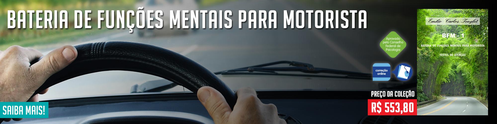 Bateria de Funções Mentais para Motoristas