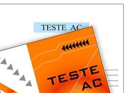 Teste AC - Teste Atenção Concentrada